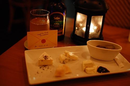 月夜の、真夜中のお茶会
