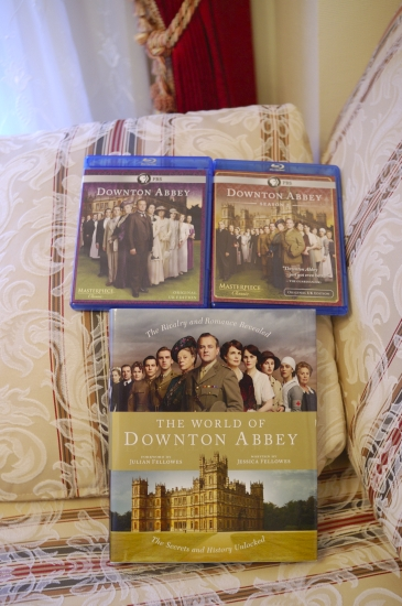 Downton Abbey Season1/2 and book.