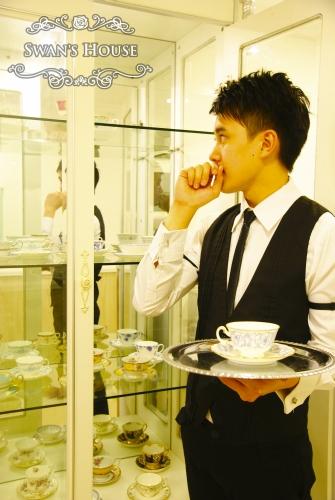 香港の執事喫茶「SWANS HOUSE」