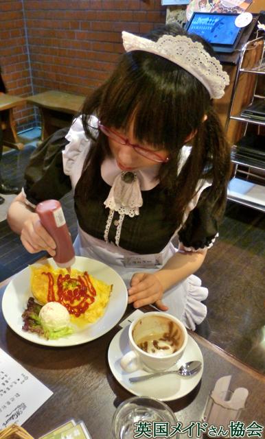 Cafe Matsuriのメイドさんに描いてもらいました。