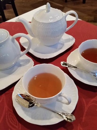 注文した紅茶